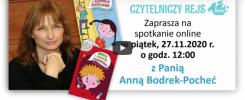 Spotkanie z Anną Boderek-Pocheć